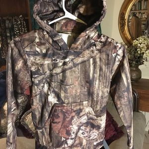 Bass Pro REDHEAD FOR YOUTH Camouflage Hoodie